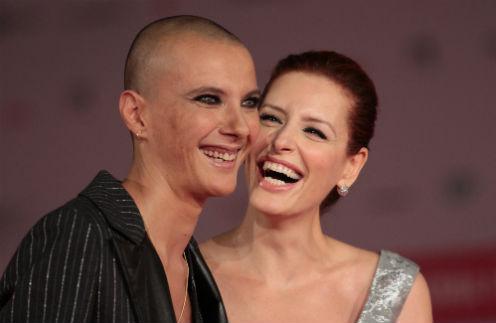 Слева направо: Розалинда Челентано и Симона Бориони