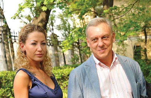Александр Половцев с новой возлюбленнйо Александрой