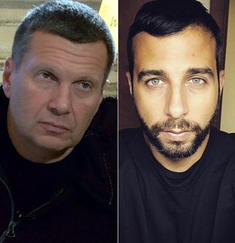 Владимир Соловьев и Иван Ургант
