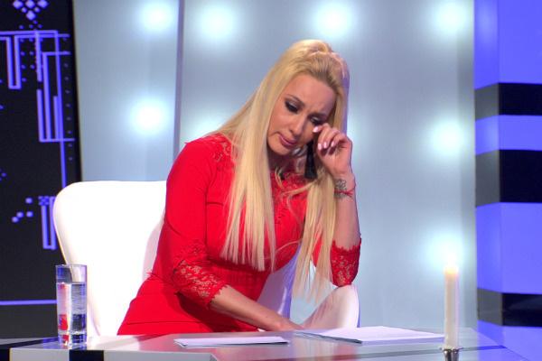 Лера Кудрявцева не смогла сдержать слез