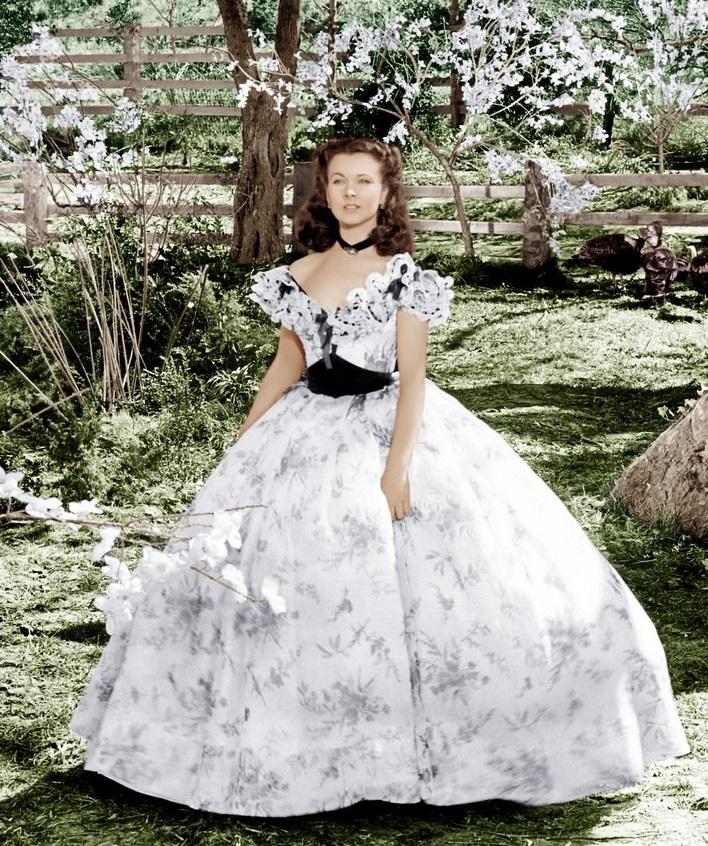 Платье Скарлетт О'Хары, которое понравилось Виктории Дайнеко