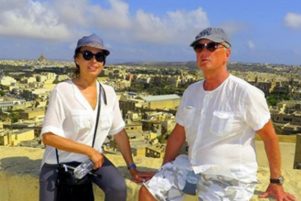 Михаил Задорнов с супругой