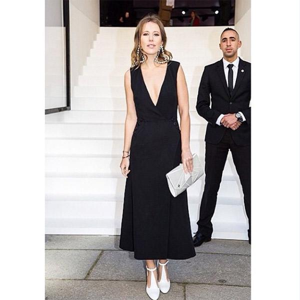 Ксения Собчак в Dior на одноименном шоу