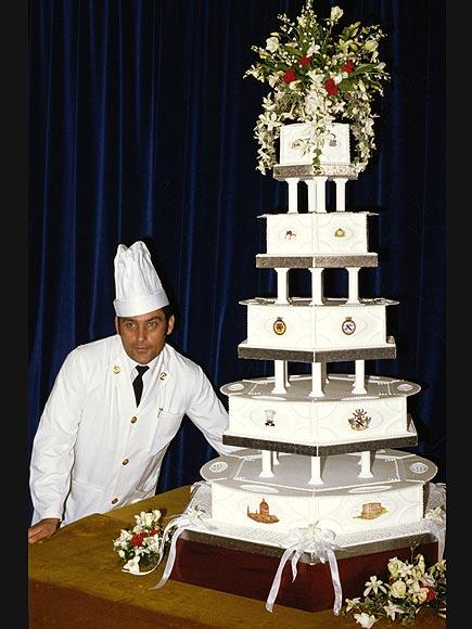 Свадебный торт принцессы Дианы и принца Чарльза