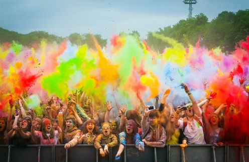 Скоро стартует арт-фестиваль красок