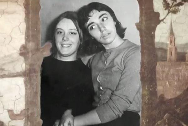 Маргарита Терехова и Наталья Верова во времена учебы