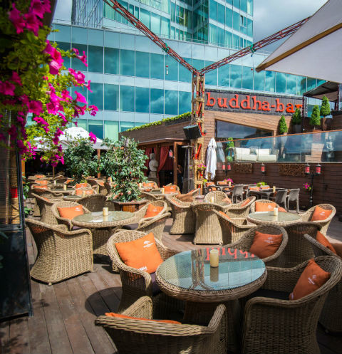 В Buddha-Bar Moscow открылась летняя веранда
