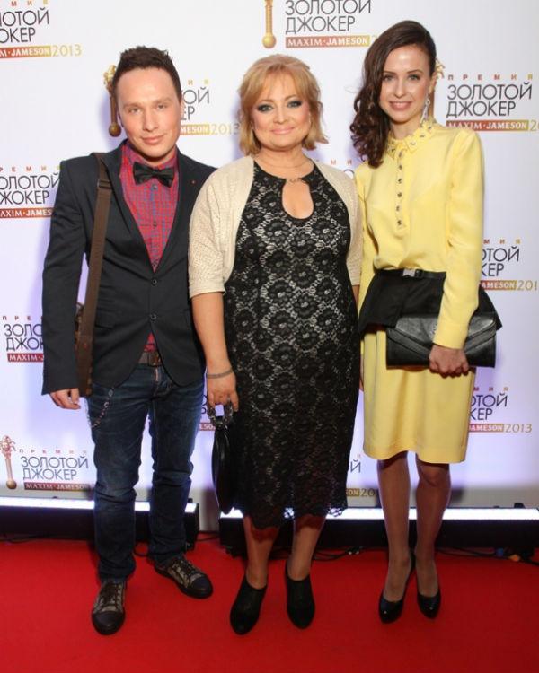 Максим (гражданский муж Пермяковой), Светлана Пермякова и Мирослава Карпович