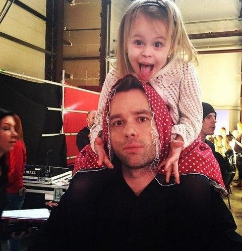 Виталий Гогунский с дочерью Миланой