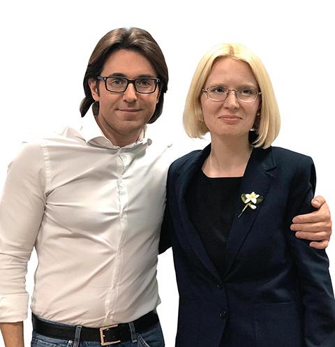 Андрей Малахов и Анастасия Петрова-Четинкая