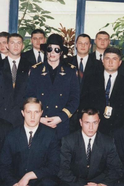 С Майклом Джексоном «Карат-Ц» работал в 1990-х годах