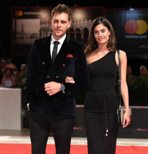 Милош Бикович и Барбара Таталович на премьере в Венеции
