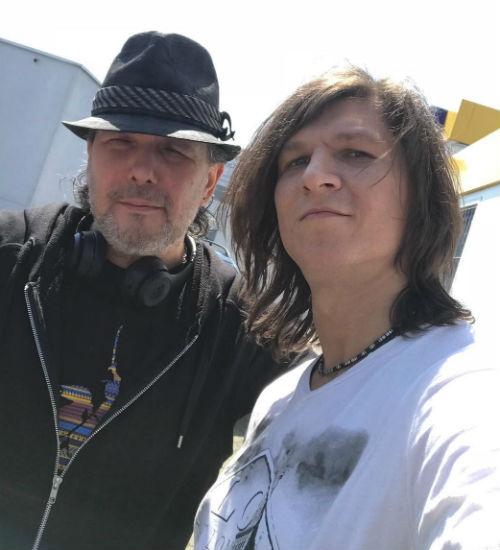 Сергей Бондаренко с отцом