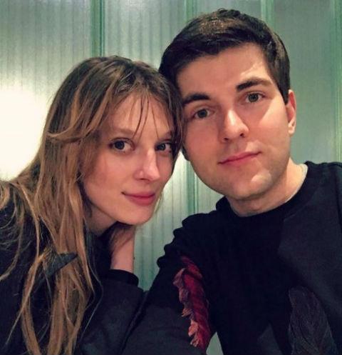Дмитрий Борисов с подругой