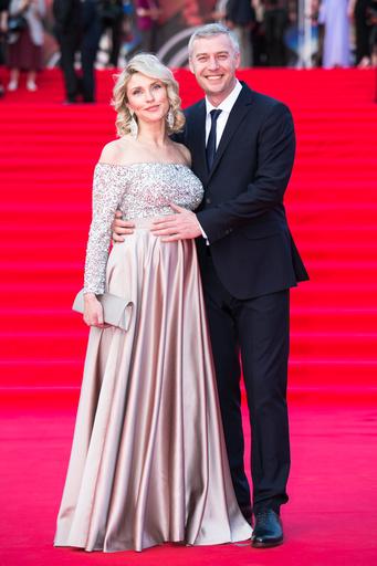 Екатерина Архарова с мужем Артемом