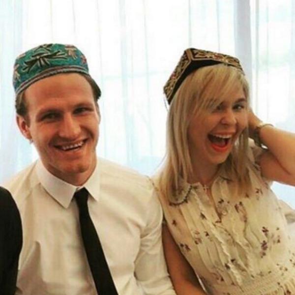 Певица с супругом Иваном Телегиным