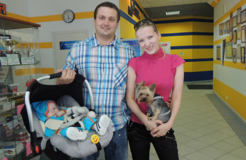 Артем и Анна Удовенко
