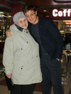 Ольга Пантелеевна с внуком Алексеем Макаровым