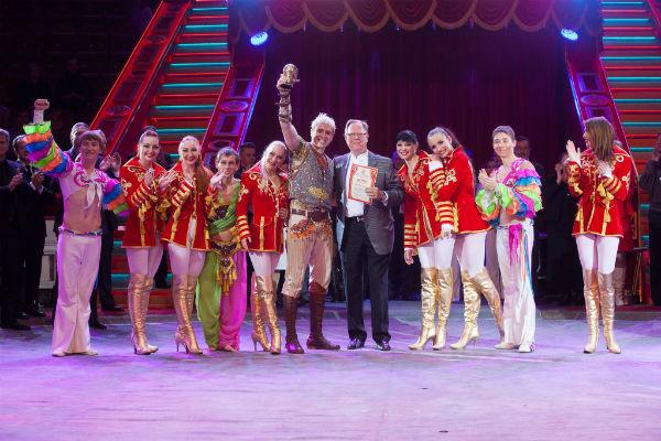 Андрей Дементьев-Корнилов стал обладателем первого золотого приза «Золотой Слон» по итогам 12-го Московского международного молодежного фестиваля циркового искусства