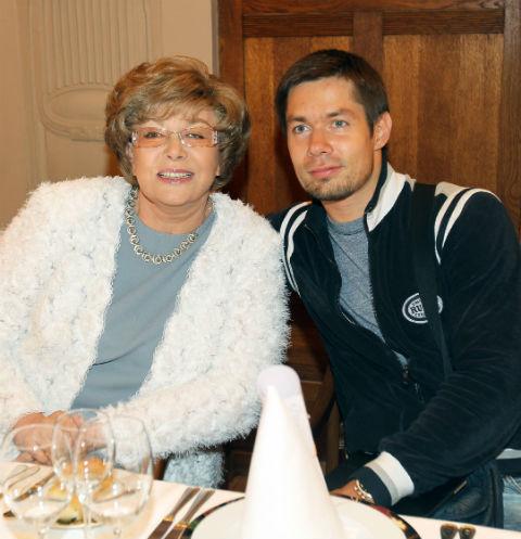 Эдита Пьеха с внуком Стасом