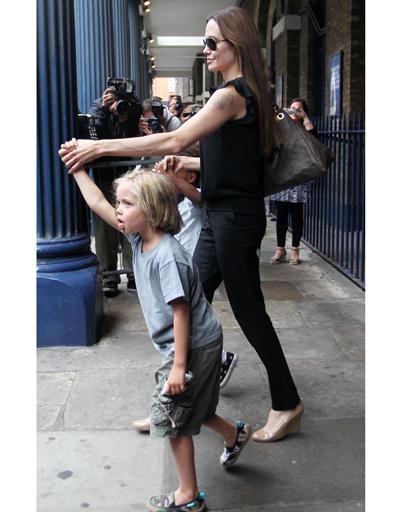 Анджелина Джоли и ее дочь Шайло