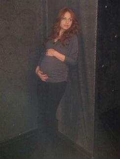 фото ирина забияка беременна