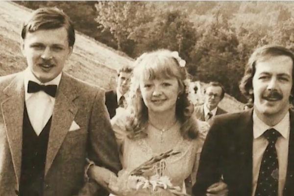 Константин Купервейс (крайний справа) с Марией, дочерью Людмилы Гурченко
