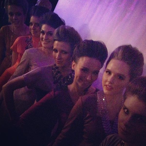 Всех моделей для показа Ольга отбирала лично