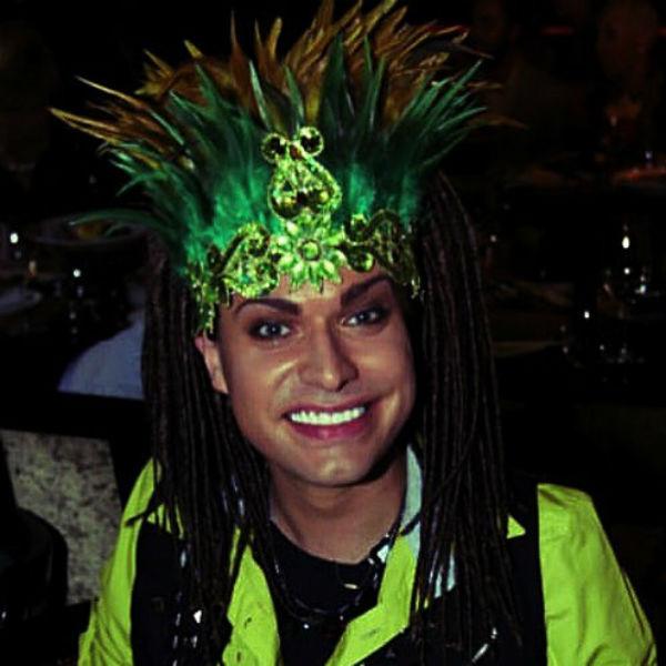 Гоген Солнцев в карнавальном костюме