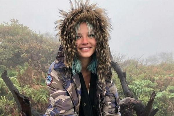 Алеся Кафельникова отдыхает на Бали