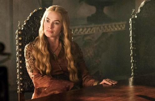 Лена Хиди в роли королевы Серсеи