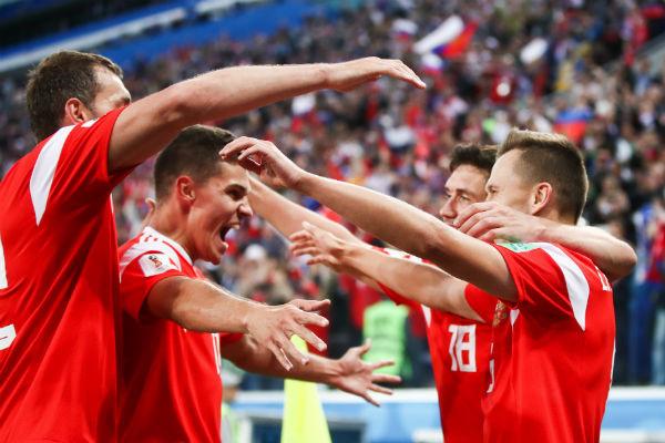 Сборная России обыграла команду Египта