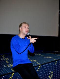 13 ноября Сергей Светлаков представил фильм «Джунгли» в Краснодаре...