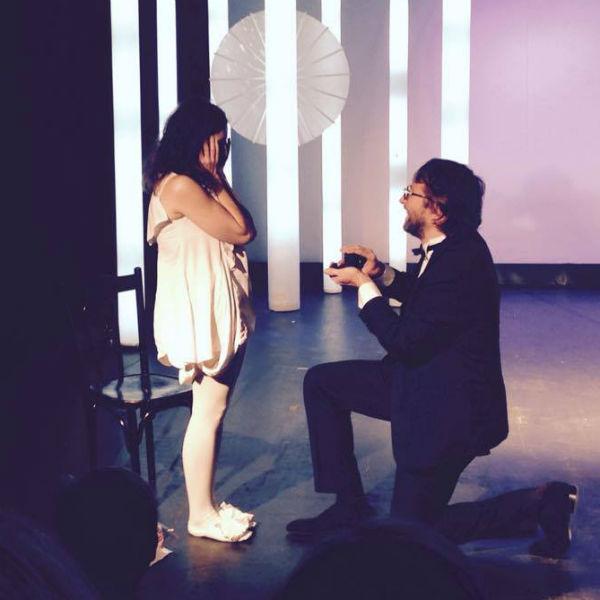 Предложение руки и сердца актриса получила прямо на сцене театра