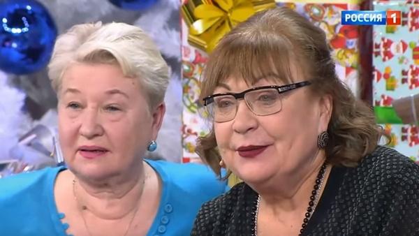 Татьяна Кравченко с сестрой Александрой Токаревой