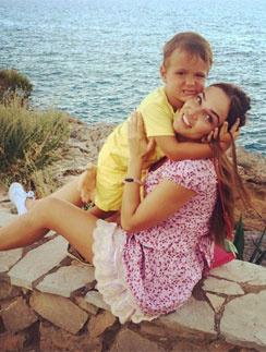 Алена Водонаева уже воспитывает сына Богдана, но не планирует останавливаться на достигнутом