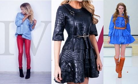 Модели в одежде Hearts of 4