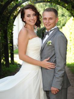 Наталья Фриске и ее муж Сергей