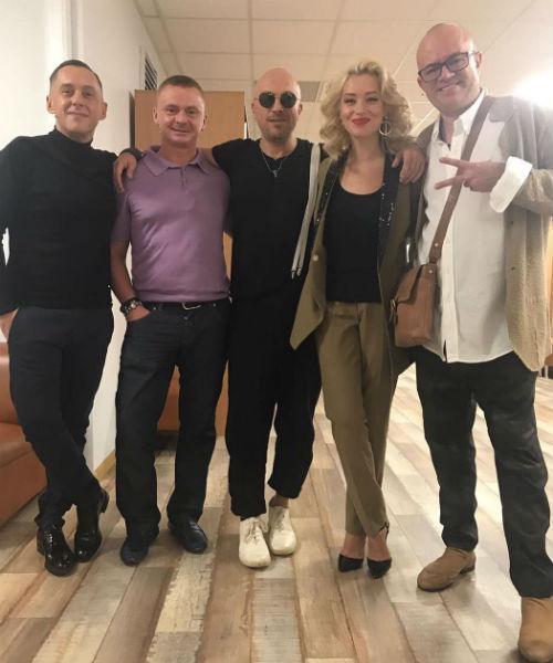 Алексей Климушкин с коллегами
