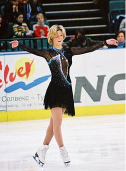 Кристина на льду