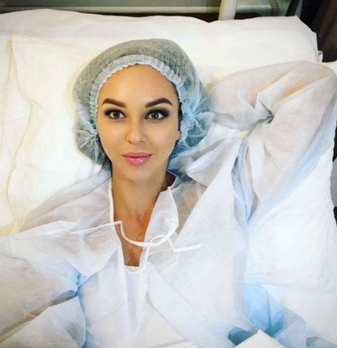 Анастасия Лисова сделала операцию по изменению формы носа. Фото до ринопластики