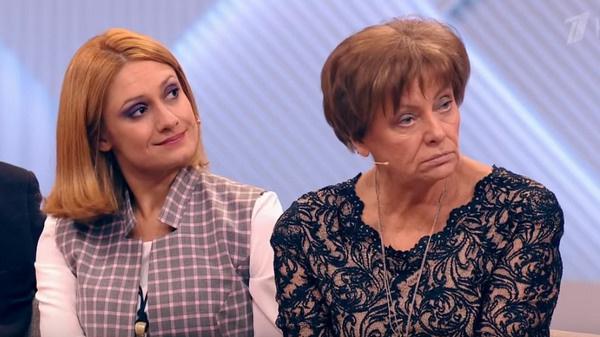 Карина Мишулина с матерью Валентиной