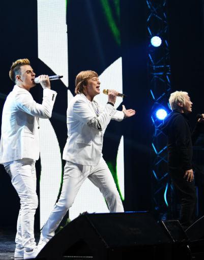 Музыканты произвели настоящий фурор на концерте по случаю 20-летия группы