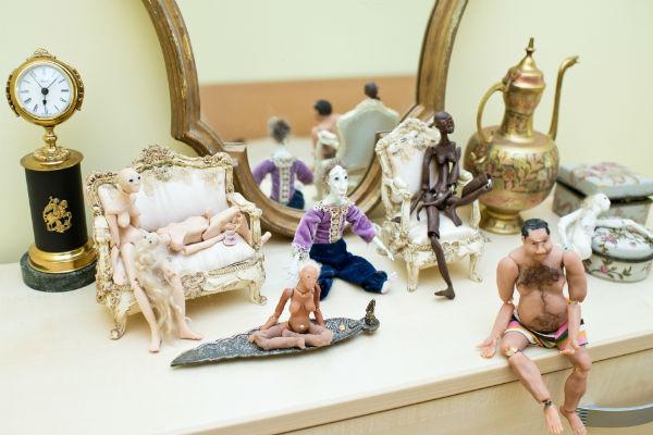 Хобби артистки - изготовление шарнирных кукол