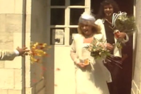 Венчалась пара в Иерусалиме