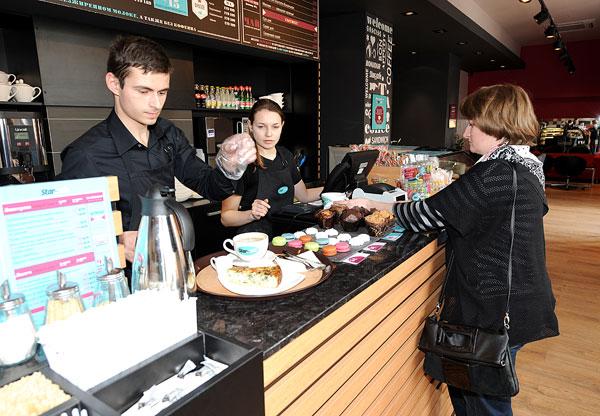 Наши бариста приготовят самый вкусный кофе и помогут определиться с выбором