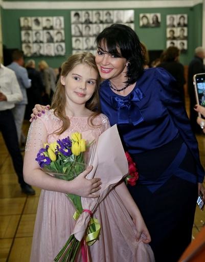 Вдова Александра Абдулова Юлия с дочерью