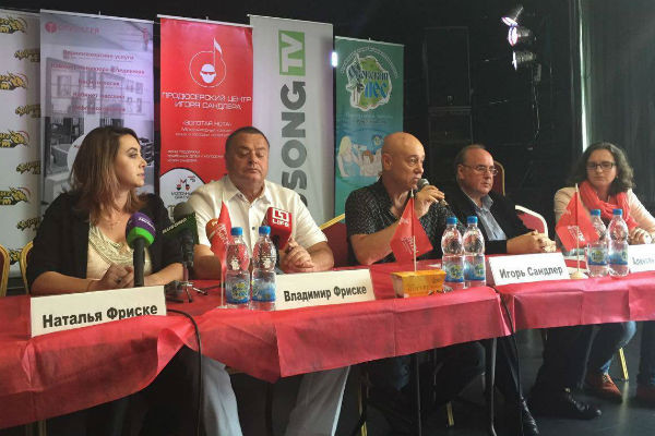 Родственники Жанны Фриске на пресс-конференции проекта «Жанна Фриске – Я рядом!»