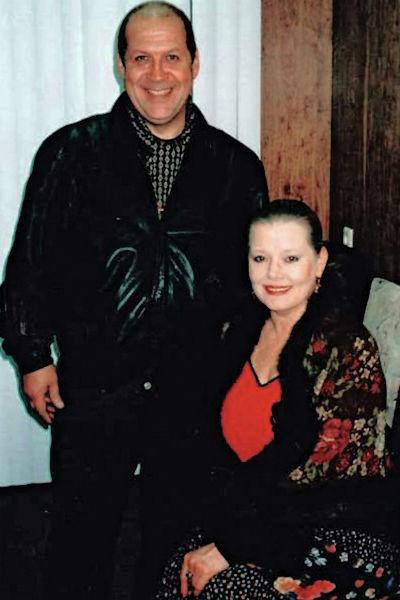 Людмила Сенчина с мужем Владимиром Андреевым