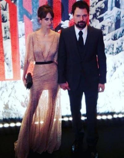 Данила Козловский появился на премьере в сопровождении девушки Ольги Зуевой
